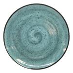 Manna Ceramics Turquoise Ceramic Plate 26cm