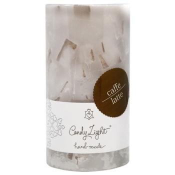 Свеча Candy Light Кава-латте ароматическая 7х13см