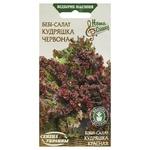 Семена Семена Украины Бэби-салат Кудряшка красная 1г