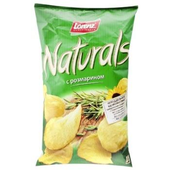 Чипсы Lorenz Naturals картофельные с розмарином 110г