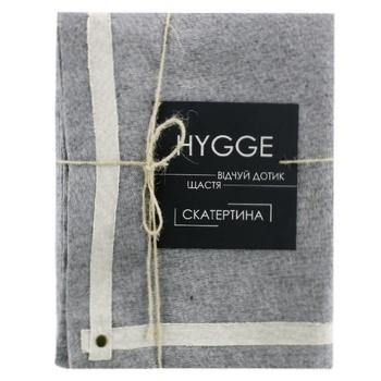 Hygge Black Cotton Tablecloth 109х109cm