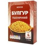 Novus Portioned Wheat Bulgur 4x100g