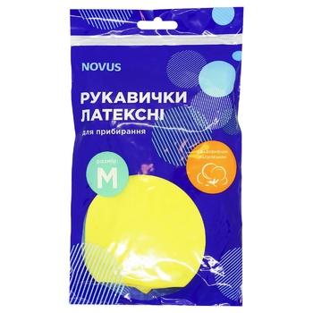 Перчатки Novus латексные M