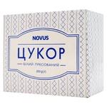 Цукор Novus пресований швидкорозчинний кубики 250г