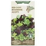 Насіння Семена України салат-бейбі Вітамінне Асорті 1г