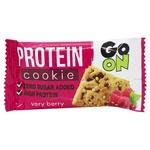 Печиво Go on nutrition білкове з фруктами 50г