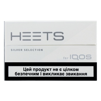 Heets Silver Selection Tobacco Sticks 0,008g*20pcs - buy, prices for Auchan - photo 1