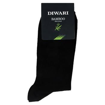 Diwari Bamboo Men's Socks s.29 000 black 7C-94SP - buy, prices for CityMarket - photo 1