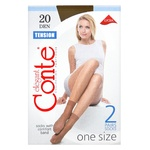 Conte Tension Bronze Socks for Women 20den 2 pairs
