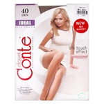 Conte Ideal Beige 40den Tights for Women Size 4