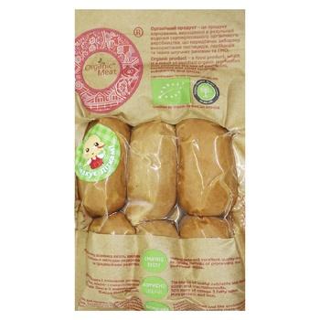 Wiener Organic meat boiled 420g Ukraine