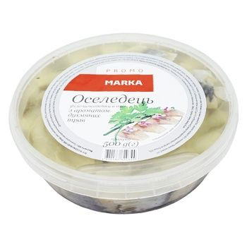 Marka Promo In Oil With Herbs Aroma Herring Fillet Pieces 500g
