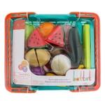 Ігровий набір Battat Lite Овочі та фрукти на липучках для двох