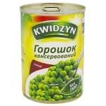 Горошек зеленый Kwidzyn консервированный 400г