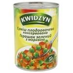 Kwidzyn Peas And Carrot Mix 400g
