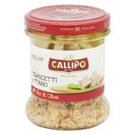 Тунець Callipo шматочками в оливковій олії 170г