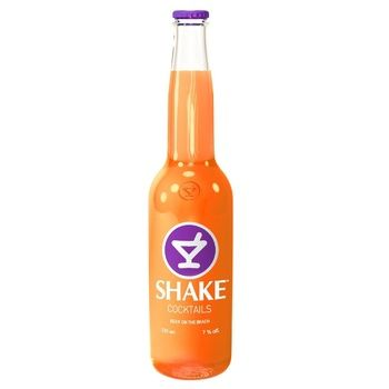 Low-alcohol sparkling drink Shake Sex on the beach 7%alc. 330ml - buy, prices for Auchan - photo 1