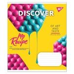 Yes Art of Taste А5 36 Pages Checkered Notebook