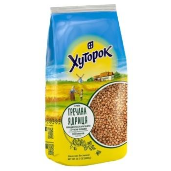 Khutorok Buckwheat Grain 800g - buy, prices for Novus - photo 1