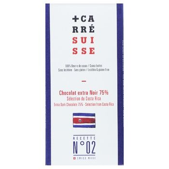 Шоколад Carre Suisse Costa Rica экстрачерный 100г