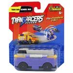 TransRacers Tourist Bus + School Bus 2 in 1 Toy Cars Set