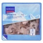 Креветка Norven морожена глазурована чищена 500г