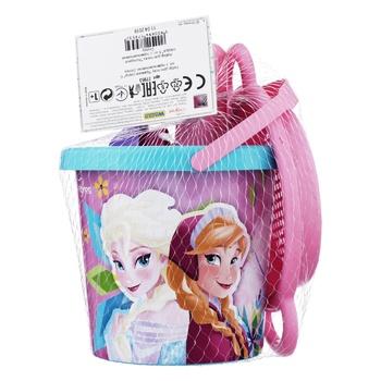 Набір для пісочниці Тигрес Disney Frozen 6 елементів - купити, ціни на Метро - фото 1