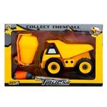 Kaile Toys Concrete Mixer Dump Truck Toy