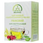 Beskyd Morning Green Tea with Carpathian Herbs 100g