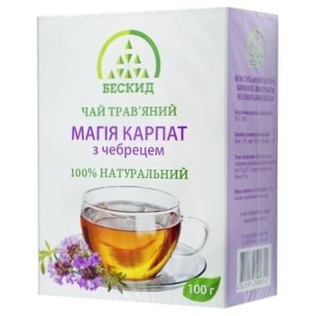 Чай травяной Бескид Магия Карпат с тимьяном 100г