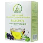 Чай зеленый Бескид Бодрость с  карпатскими травами 100г