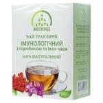 Чай травяной Бескид Иммунологический с рябиной и Иван-чаем 100г