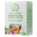 Чай травяной Бескид Мужская сила с хмелем и Иван-чаем 100г