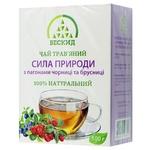 Чай травяной Бескид Сила природы с побегами черники и брусники 100г