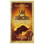 Шоколад гіркий Бісквіт-Шоколад Old Collection з апельсиновими шматочками 62% 200г