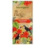 Шоколад Belgian Oorganic черный 72% 90г