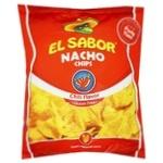Чіпси El Sabor Nacho зі смаком перцю чилі 225г