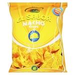 Чіпси начос El Sabor зі смаком сиру 100г