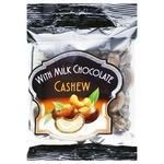 Hazelnuts With Milk Chocolate Cashews 90g