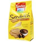 Вафлі Loacker Sandwich Chocolate з шоколадом 200г