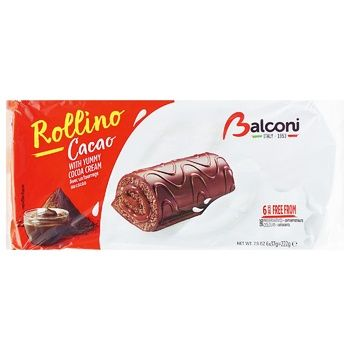 Balconi Mini Rolls with Cocoa 6х37g