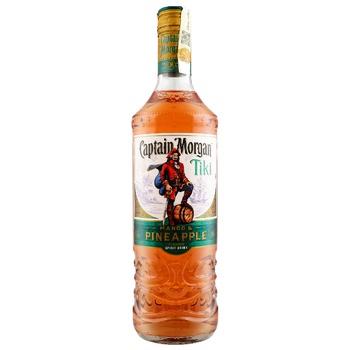 Напиток алкогольный на основе Карибского рома Capitan Morgan Tiki 25% 0,7л
