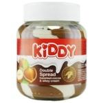 Крем шоколадний Kiddy з лісовими горіхами 350г