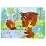 Пазл DoDo R300184 Медвежата с рамкой