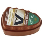 Gold Care Mini Brown Sponge to Give Shine Shoes