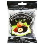 Hazelnuts With Dark Chocolate Hazelnut 90g
