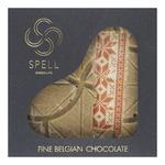 Шоколад белый Spell с вафельной крошкой и солодом 100г