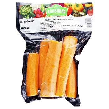 Fresh Peeled Washed Carrots, 1 Bag