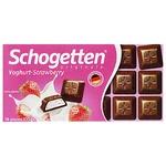 Шоколад Schogеtten молочний йогурт-полуниця 100г