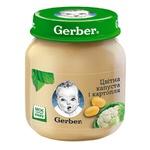 Пюре Gerber цветная капуста и картофель 130г